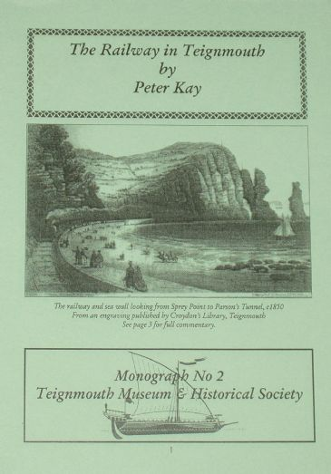 The Railway in Teignmouth, by Peter Kay